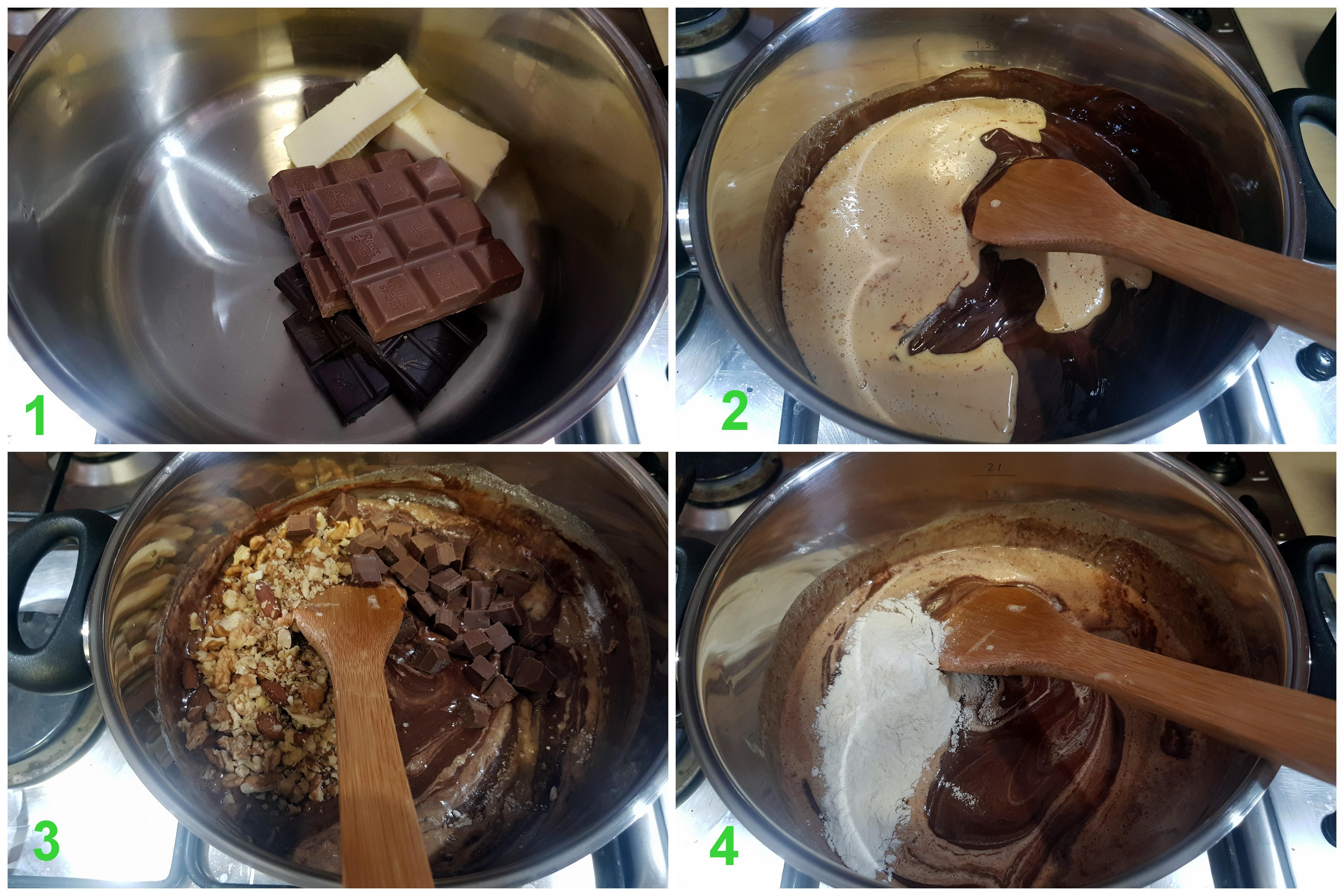 čokoládové lupienky s čokoládou