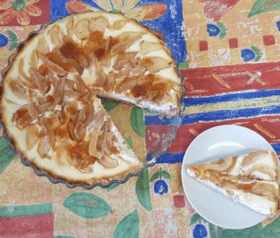 hruškový tart