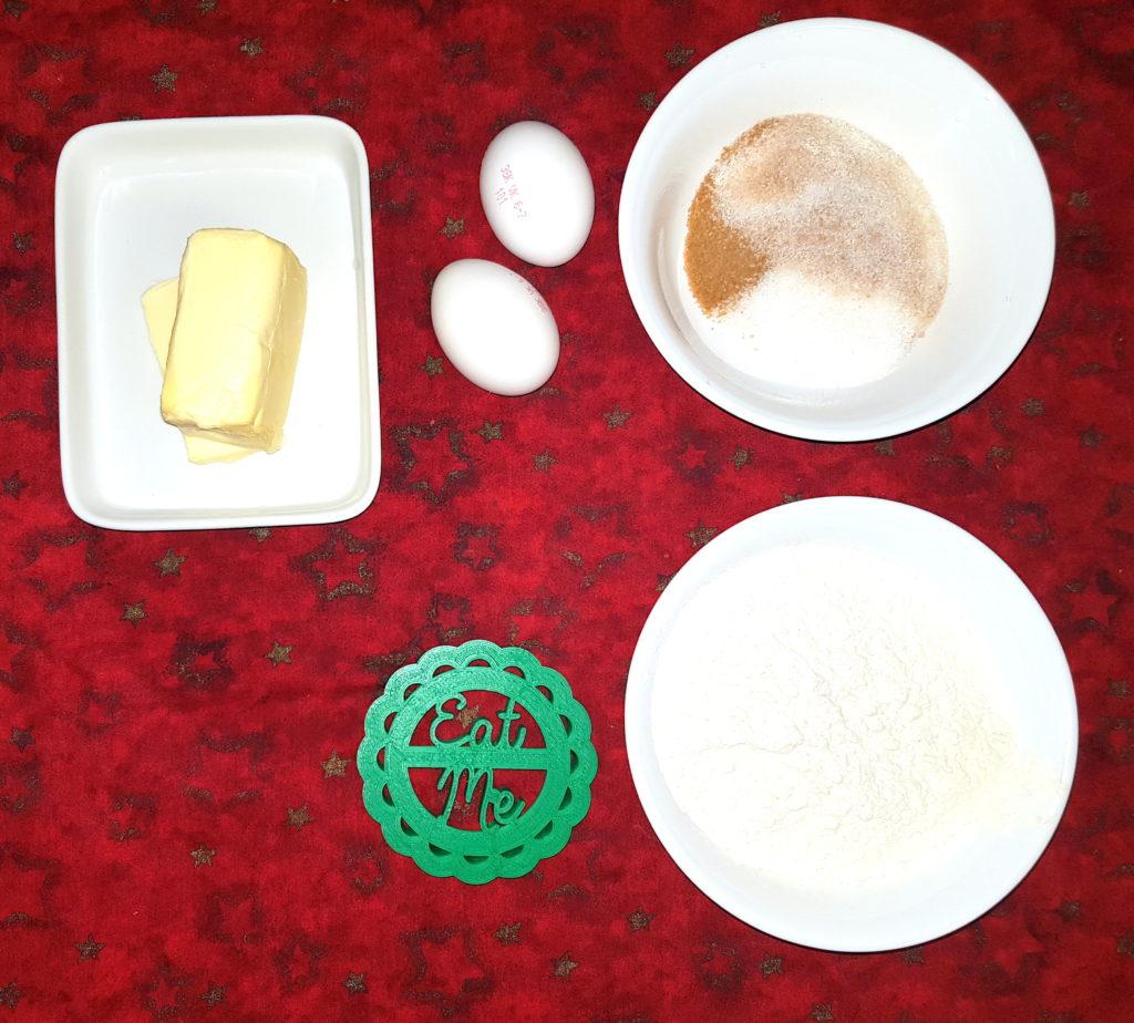 suroviny na maslové sušienky