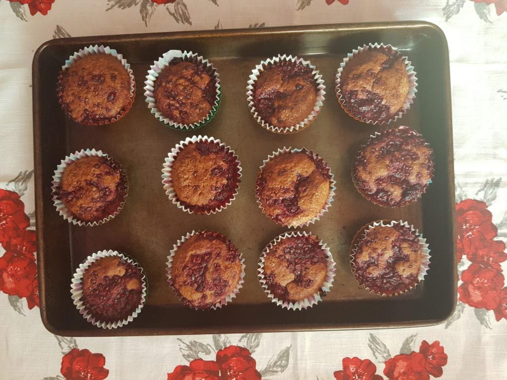 muffiny na plechu