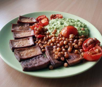 Pečená zelenina s tofu