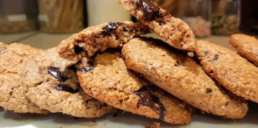 chrumkavé keksy