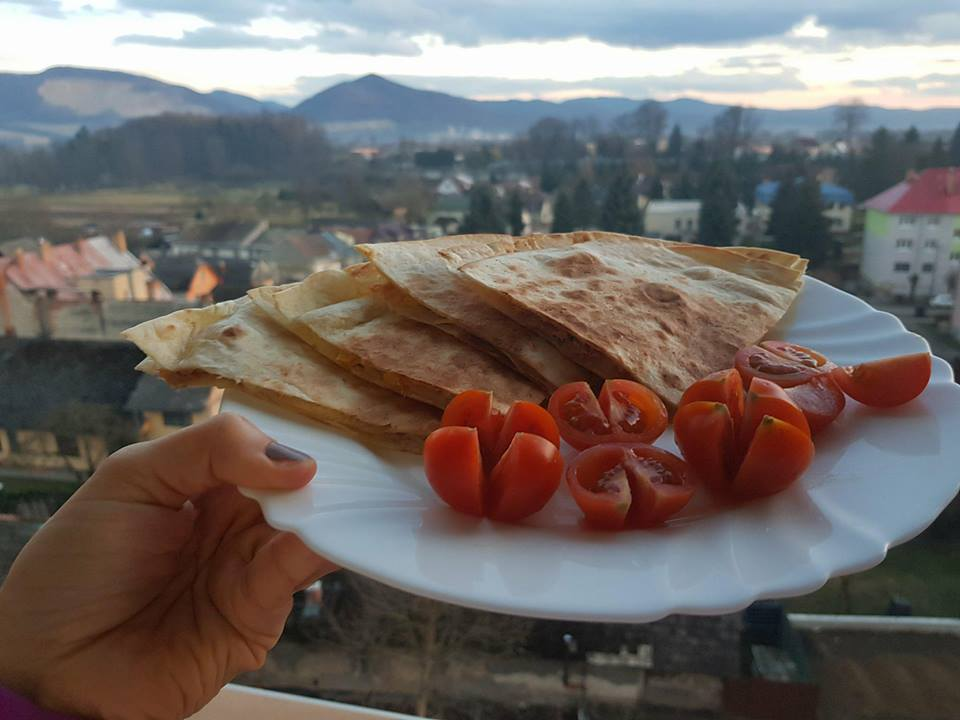Tuniaková quesadilla so syrom