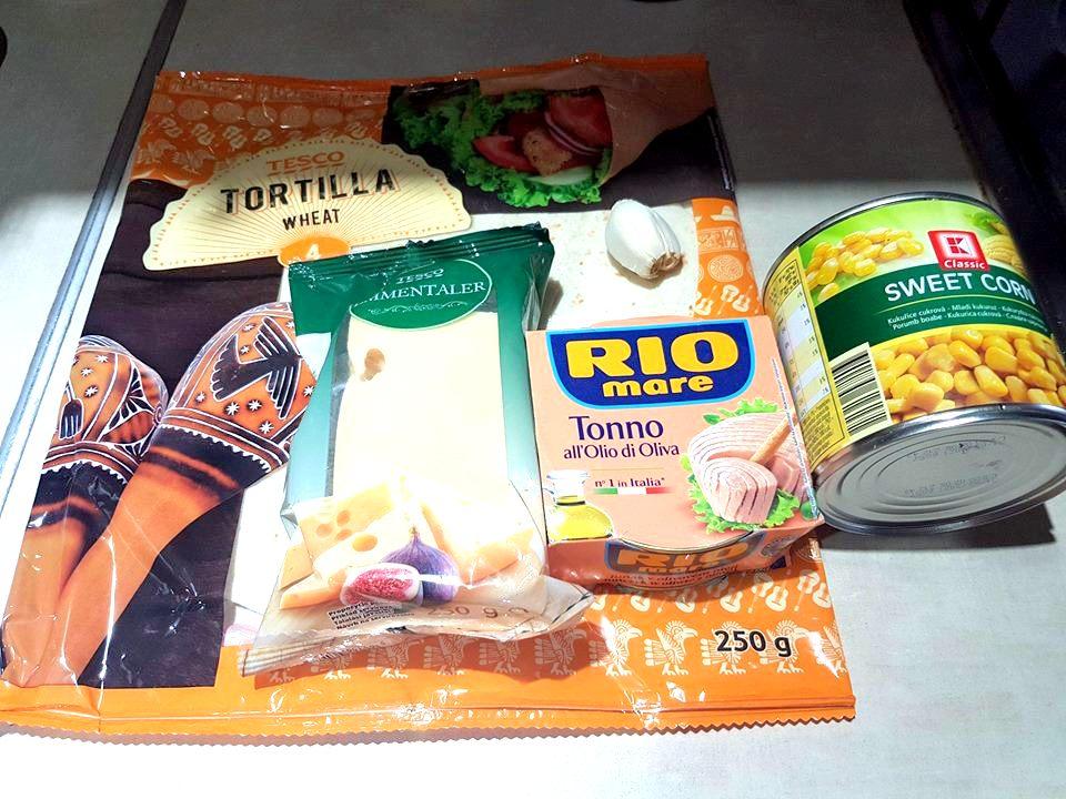 Tuniaková quesadilla so syrom
