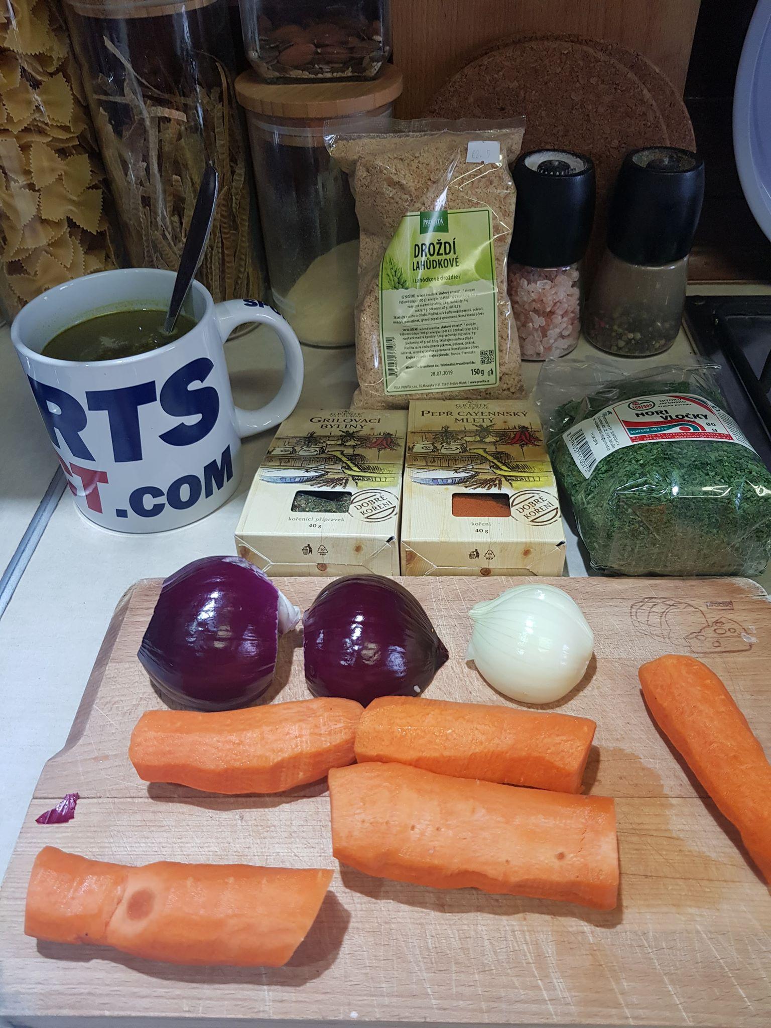 Ľahká mrkvová polievka