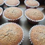 Makové muffiny s kokosom