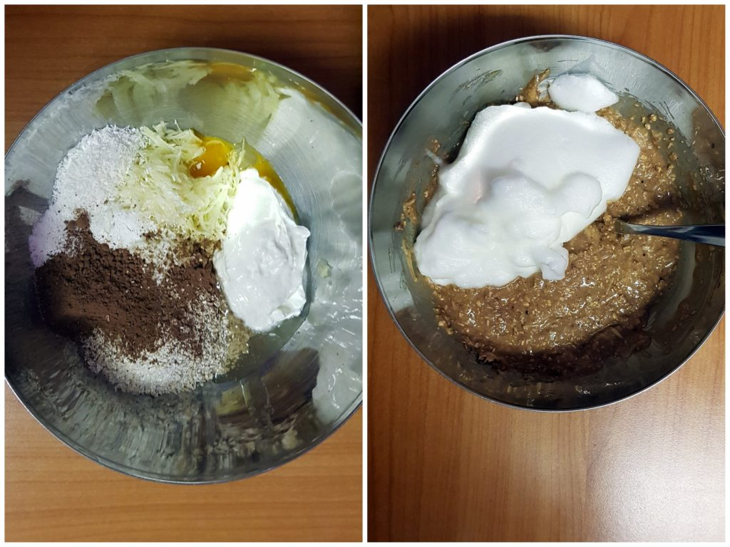 cuketový závin postup