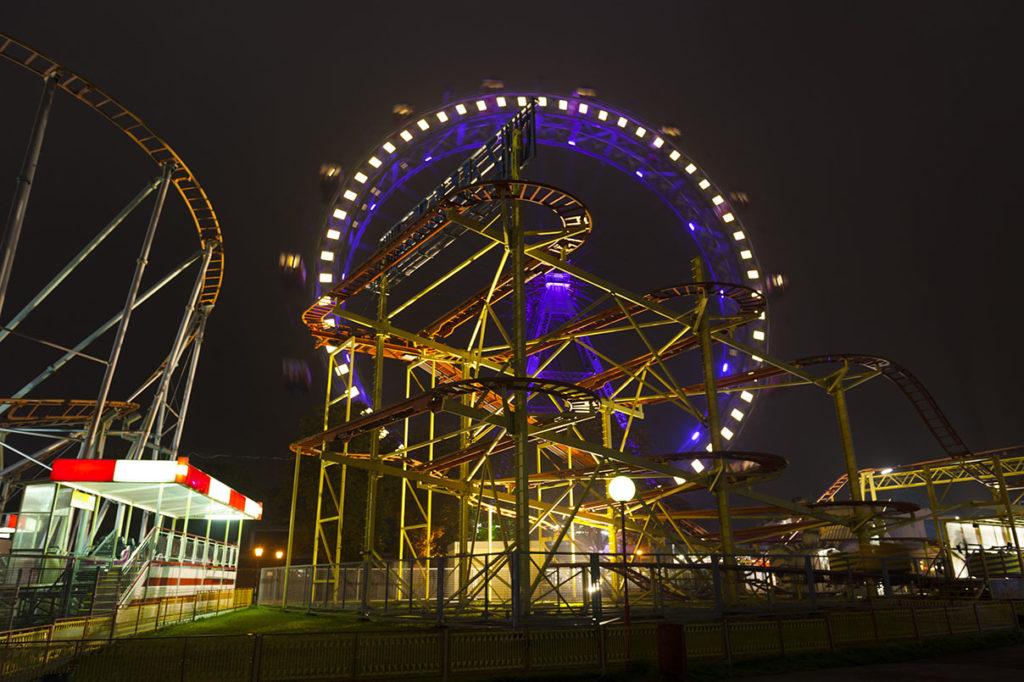Viedenský zábavný park Prater