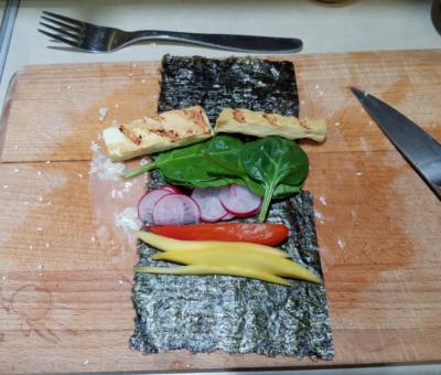 rolka ala sushi