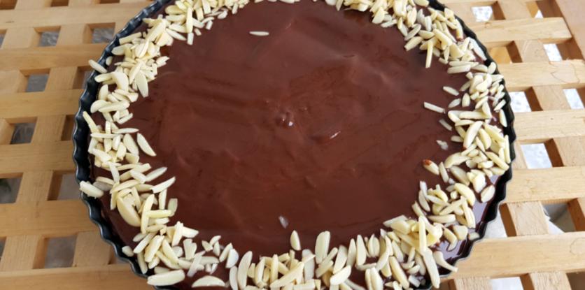 mandľový koláč